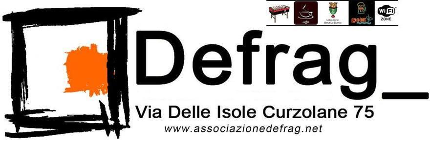 Logo Defrag, via delle Isole Curzolane 75, Roma