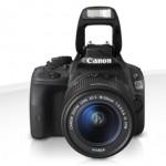 Canon Eos 100D Flash alzato