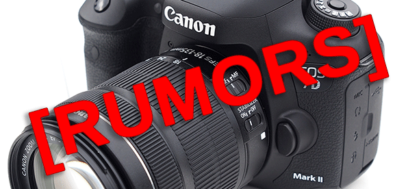 Canon eos 7d mark II rumors
