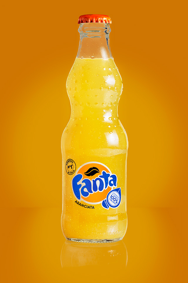 Fanta still life photo - After
