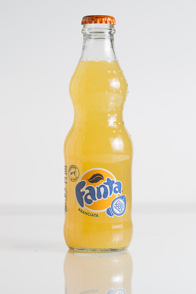 Fanta still life photo - Before