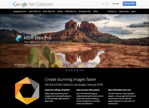 Google Nik Collection a 149 dollari