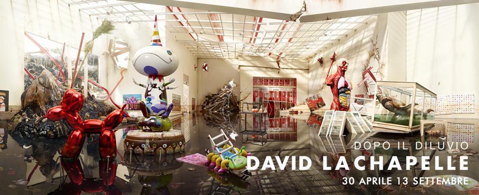 David LaChapelle, dopo il diluvio, mostra antologica al Palazzo delle Esposizioni di Roma dal 30 Aprile al 13 Settembre