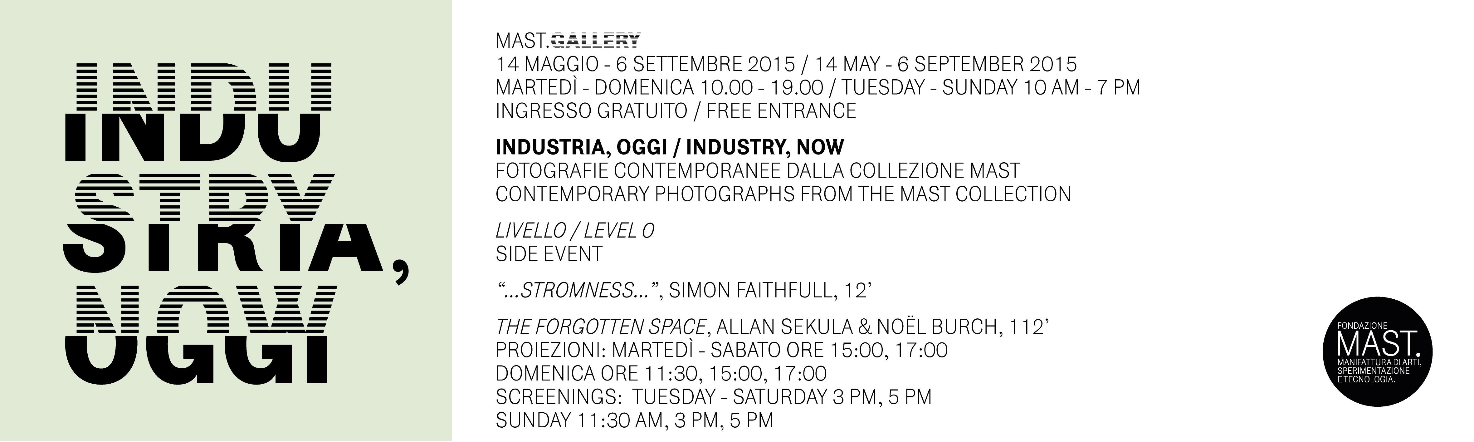 industria oggi, mostra fotografica al MAST di Bologna dal 14 Maggio al 6 Settembre 2015