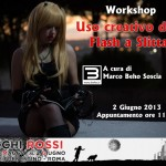 Occhi Rossi Workshop uso del flash a slitta