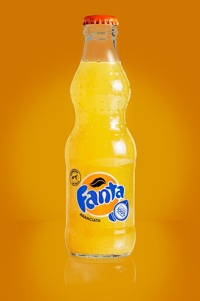 Fanta still life photo - After