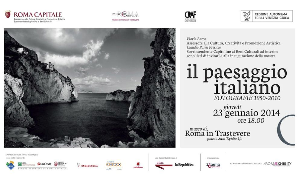 Il paesaggio italiano fotografi1950 2010