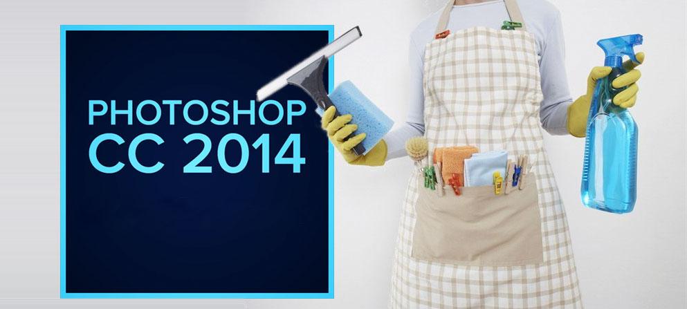 pulizie di primavera per Photoshop CC 2014