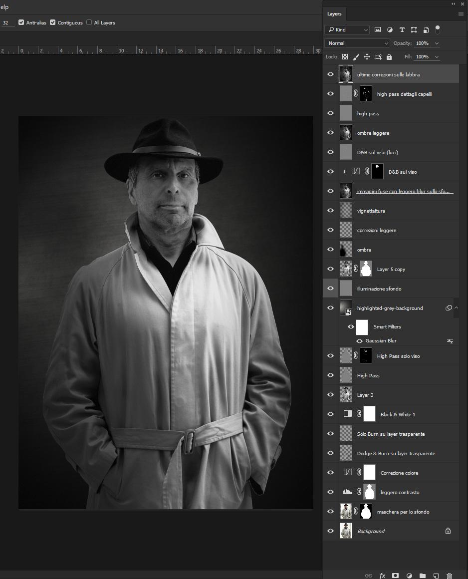 Sante Bogart Photoshop Layers